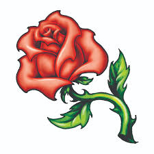 rose u0026 leaves tattooforaweek temporary tattoos largest temporary