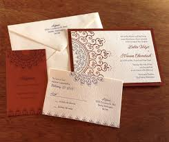 letterpress indian wedding invitation cards invitations by