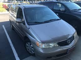 2003 honda odyssey minivan pre owned 2003 honda odyssey ex l minivan in wilmington