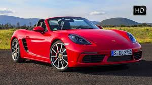 yellow porsche boxster 2017 porsche 718 boxster s red u0026 yellow exterior u0026 interior design