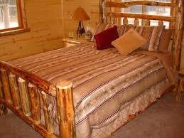 64 best log furniture images on pinterest log furniture log bed