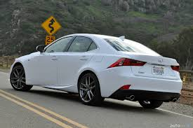 lexus luxury sports car 2015 lexus is 350 f sport review autoweb