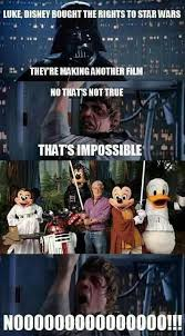 Star Wars Disney Meme - disney bought the rights to star wars star wars know your meme