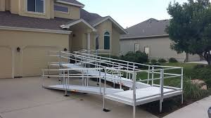 rental wheelchair ramp for short term use accessible systems