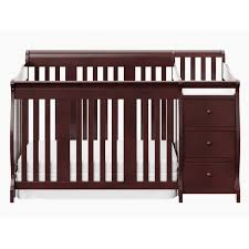 Convertible Crib Changing Table by Mini Crib Changing Table Combo Creative Ideas Of Baby Cribs