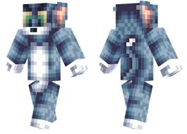 download tom jerry minecraft skin