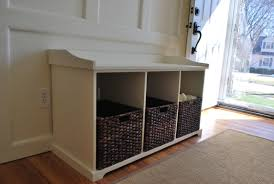 free entryway storage bench plans new woodworking style