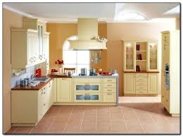 best paint color with cherry cabinets yellow paint colors for kitchen best images of butter colored