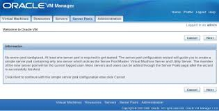 ovm console oracle base oracle vm 2 2 installation