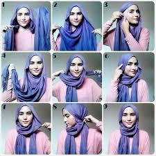 tutorial hijab pashmina kaos yang simple tips memakai hijab pashmina kaos yang simpel tips memakai hijab new