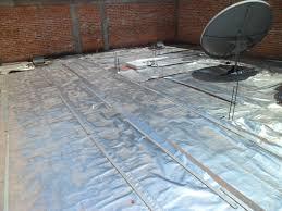 installing radiant barrier over flat roofs atticfoil radiant