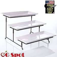 3 tier server home u0026 garden ebay