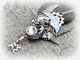 dragon key necklace images Midnight whisperer steampunk dragon key necklace by jpg