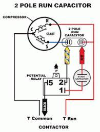 starting capacitor wiring diagram