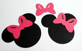 minnie mouse bow outline free download clip art wikiclipart