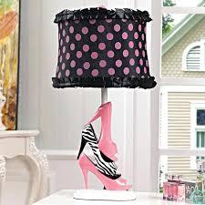 table lamp table lamps for bedroom walmart zebra pink high heels