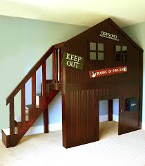 Designs For Building A Loft Bed by Clubhouse Bed Cut List Etc Cost For Lumber Was About 200 Using