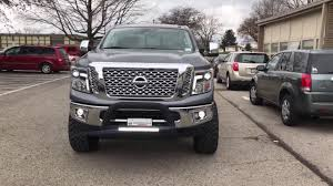 nissan truck titan 2017 2017 nissan titan xd lifted youtube