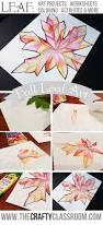 fall leaf art project all ages click to see what my five year