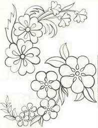 Flower Designs For Embroidery Siren Mexican Floral Yoke Embroidery Pattern From Http Www