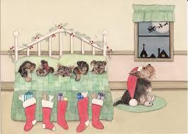 yorkie yorkshire terrier christmas cards u0026 ornaments