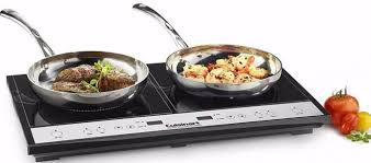 induction cuisine cuisinart electric black burner induction kitchen cooktop