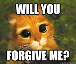 Forgive Me Meme - will you forgive me puss in boots quickmeme