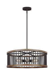 five light pendant f3116 5wri two 5 light pendant weathered rustic iron textured