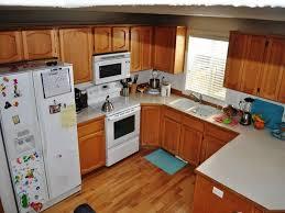 L Shaped Kitchen Floor Plan Interior Furniture Kitchen L Shape Plan Design With Brown Wooden
