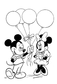 inspirational mickey friends coloring pages 96
