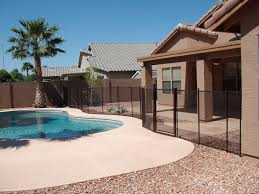 fence design pool fences arizona fence company high end