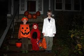 halloween costume scientist pumpkin four ways original composition