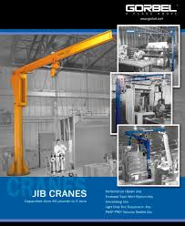 jib cranes gorbel pdf catalogue technical documentation