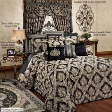 Oversized Quilted Bedspreads Fenmore Damask Quilted Oversized Bedspread Bedding