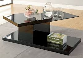black and glass coffee table 20 inimitable styles of swiveling glass coffee table home design lover