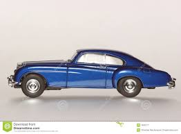 old bentley continental 1955 bentley u0027r u0027 continental classic toy car sideview stock image
