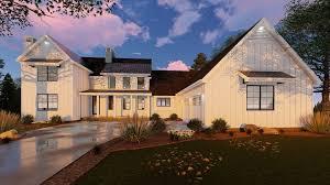 farmhouse house plan 1 1 2 modern farmhouse house plan rochester
