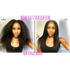 best flat iron sspray for african american hair natural hair kinky to straight my flat iron routine youtube