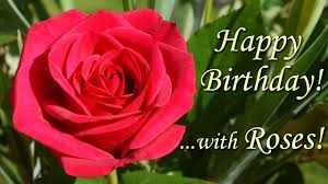 happy birthday song with roses beautiful flowers pictures