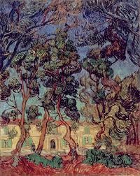 trees in the garden of saint paul hospital u2013 vincent