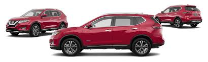 Nissan Rogue Models - 2017 nissan rogue hybrid awd sv 4dr crossover midyear release