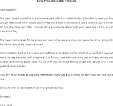 download sales promotion letter sample word doc for free tidyform