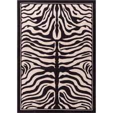 Zebra Area Rugs Well Woven Dulcet Zebra Ivory 2 Ft 7 In X 3 Ft 11 In Animal