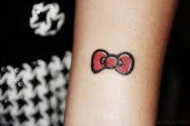 hello bow hello bow tattoos sanrio ink hawaii kawaii
