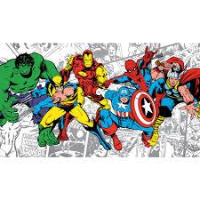 superhero wallpaper u0026 border wallpaper inc com