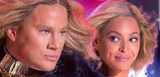 Channing Tatum Meme - watch beyonce join channing tatum for run the world on lip sync battle