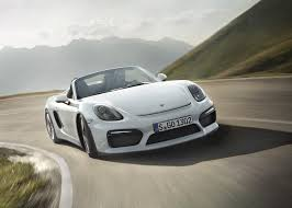 porsche boxster widebody porsche boxster spyder revealed