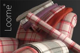Plaid Curtain Material Plaid Upholstery Fabric Plaid Curtain Fabric The Iona