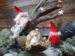 how to make a gnome needle felting tutorial