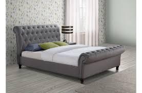 5ft Bed Frame Birlea 5ft Kingsize Grey Fabric Bed Frame By Birlea
